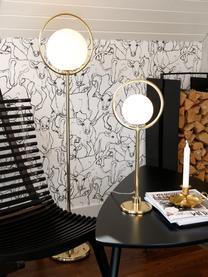 Lampa podłogowa Saint, Biały, mosiądz, S 30 x W 140 cm