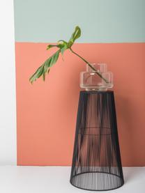 Vaas Dalia van gerecycled glas, Gerecycled glas, Transparant, Ø 22 x H 18 cm