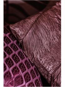 Cuscino con imbottitura Stefanie, Rivestimento: poliestere, Rosa, Larg. 45 x Lung. 45 cm