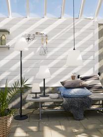 Outdoor LED-Stehlampe Gardenlight mit Stecker, Lampenschirm: Kunststoff, Lampenfuß: Metall, beschichtet, Weiß, Anthrazit, Ø 28 x H 150 cm