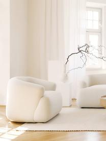Poltrona beige Sofia, Rivestimento: 100% polipropilene Con 23, Piedini: materiale sintetico, Beige, Larg. 96 x Prof. 82 cm