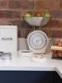 Bilancia da cucina Nostalgia, Acciaio inossidabile parzialmente rivestito, Crema, Larg. 25 x Alt. 30 cm