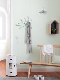 Wieszak ścienny Afteroom Coat Hanger, Stal malowana proszkowo, Biały, S 37 x W 24 cm