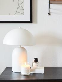 Lampa stołowa retro Walter, Biały, matowy, Ø 25 x W 33 cm