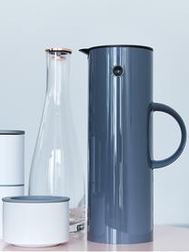 Wasserkaraffe Flow, 1 L, Glas, Transparent, 1 L