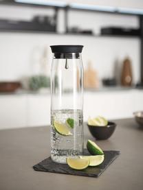 Große Karaffe Brioso, 1.1 L, Glas, Silikon, Transparent, 1.1 L