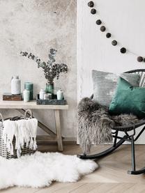 Taca dekoracyjna z marmuru Ciaran, Marmur, Zielony, marmurowy, S 30 x G 30 cm