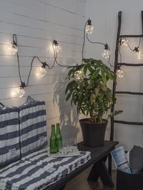 LED-Lichterkette Big Cirkus, 950 cm, 10 Lampions, Lampions: Kunststoff, Schwarz, L 950 cm