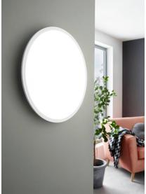 Großes dimmbares LED-Panel Sarsina mit Farbwechsel und Fernbedienung, Lampenschirm: Aluminium, Diffusorscheibe: Kunststoff, Weiß, Ø 80 x H 5 cm