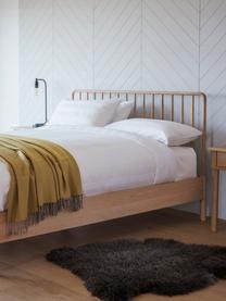 Bed Wycombe van eikenhout, Eikenhoutkleurig, 180 x 200 cm