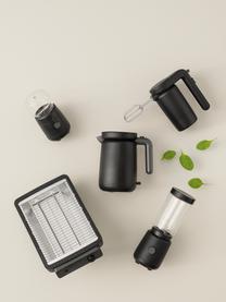 Kaffeemühle Foodie, Gehäuse: Kunststoff, Behälter: Borosilikatglas, Schwarz, Ø 10 x H 18 cm