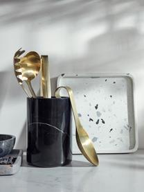 Cooler na butelki z marmuru Marbi, Marmur, Czarny, Ø 13 x W 18 cm