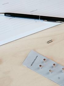 Magnete Neo, 10 Stück, Metall, magnetisch, Metall, Ø 0,4 x T 1 cm