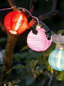 LED lichtslinger Lampion, 380 cm, Lampions: kunststof, Multicolour, L 380 cm