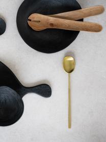 Handgefertigtes Mangoholz-Salatbesteck Culture, 2-tlg., Mango Wood, Braun, L 30 cm