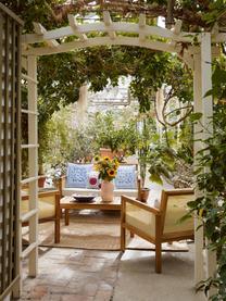 Garten-Lounge-Set Vie mit Wiener Geflecht, 4-tlg., Wiener Geflecht: Polyethylen, Beige, Set mit verschiedenen Größen