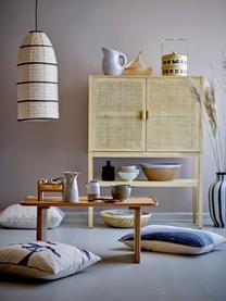 Stolik kawowy Rhys, Drewno dębowe, Brązowy, S 80 x W 45 cm