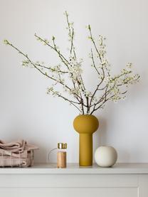 Vaso a sfera fatto a mano Ball, Ceramica, Beige chiaro, Ø 10 x Alt. 10 cm