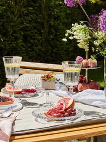 Verres à vin blanc en cristal à surface rainuréeTimeless, 6pièces, Transparent