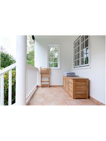 Auflagentruhe Storage aus Holz, Teakholz, geschliffen, Teak, 130 x 60 cm