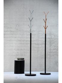 Kleiderständer London mit 6 Haken, Gestell: Stahlrohr, pulverbeschich, Schwarz, Kupfer, Ø 31 x H 177 cm