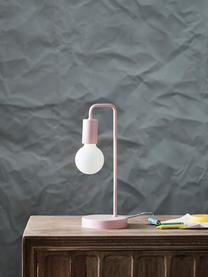 Lampa stołowa Cascais, Blady różowy, Ø 14 x W 35 cm