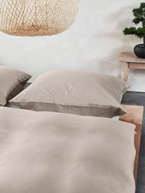 Pościel z włókna bambusowego Skye, Beżowy, 240 x 220 cm + 2 poduszki 80 x 80 cm