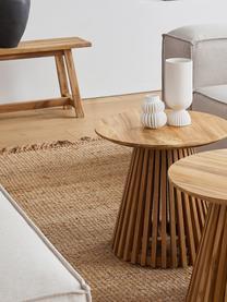 Ručně tkaný jutový koberec s třásněmi Naturals, Juta