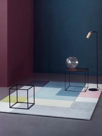 Ręcznie tuftowany dywan z wełny Tetris, Wielobarwny, S 200 x D 300 cm