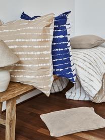 Strick-Kissenhülle Adalyn aus Bio-Baumwolle in Beige, 100% Bio-Baumwolle, GOTS-zertifiziert, Beige, 50 x 50 cm