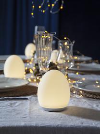 Mobile Außentischlampe Nadia mit Farbwechsel, Lampenschirm: Kunststoff, Weiß, Ø 9 x H 11 cm