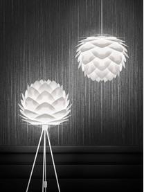 Pendelleuchte Silvia, Bausatz, Lampenschirm: Polypropylen, Weiß, Ø 50 x H 41 cm