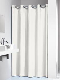 Zasłona prysznicowa Coloris, Złamana biel, S 180 x D 200 cm