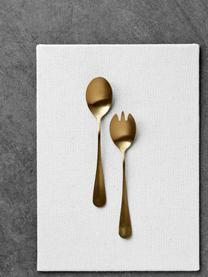 Couverts à salade en acier inoxydable doré Gold, 2élém., Couleur dorée, mat