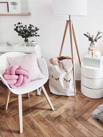 Chaise scandinave plastique Claire, Plastique blanc