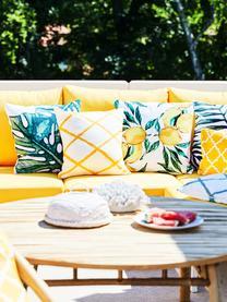 Poszewka na poduszkę Tropics, 100% bawełna, Zielony, biały, S 40 x D 40 cm