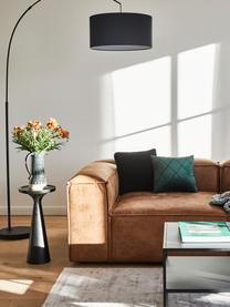 Stolik pomocniczy Floss, Aluminium malowane proszkowo, Czarny, matowy, Ø 28 x W 56 cm