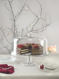 Tortenplatte Maja aus Kristallglas, Ø 30 cm, Luxion-Kristallglas, Transparent, Ø 30 x H 25 cm