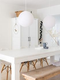 DIY Pendelleuchte Colorain, Lampions: Polyester, Weiß, Ø 31 cm