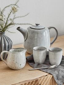 Ręcznie wykonana filiżanka do espresso z kamionki Nordic Sand, 6 szt., Kamionka, Piaskowy, Ø 7 x W 8 cm