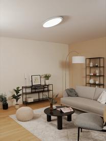 Ovales Dimmbares LED-Panel Pesaro mit Fernbedienung, Diffusorscheibe: Kunststoff, Weiß, 80 x 6 cm