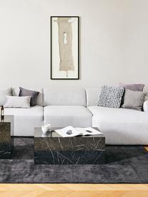 Federa arredo color grigio chiaro Iona, Retro: cotone, Grigio chiaro, Larg. 45 x Lung. 45 cm