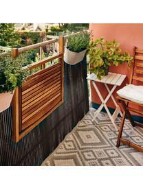 Balkon-Klapptisch Lodge aus Holz, Akazienholz, geölt, Akazienholz, 57 x 64 cm