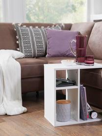 Beistelltisch Milo, Spanplatte, foliert, Weiß, B 50 x T 30 cm
