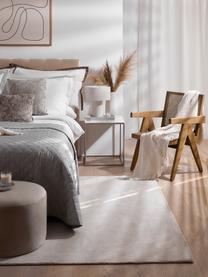 Loungefauteuil Sissi met Weens vlechtwerk, Frame: massief eikenhout, Zitvlak: rotan, Frame: eikenhoutkleurig. Zitvlak: beige, B 58  x D 66 cm