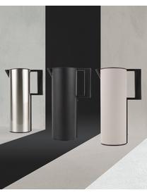 Isolierkanne Soho in Beige/Schwarz, Kunststoff, Beige, 12 x 31 cm