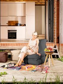 Outdoor loungefauteuil Pop Up met ligfunctie, Antraciet, 70 x 80 cm