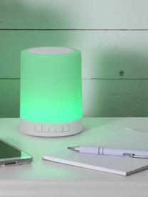 Venkovní přenosné LED svítidlo sreproduktorem a změnou barvy Loli, Bílá