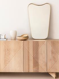 Vaso decorativo Dotty, Ceramica, smaltata e non impermeabile, Avorio, Ø 14 x Alt. 20 cm