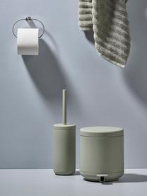 Afvalemmer Ume, Kunststof (ABS), Eucalyptusgroen, Ø 20 x H 22 cm